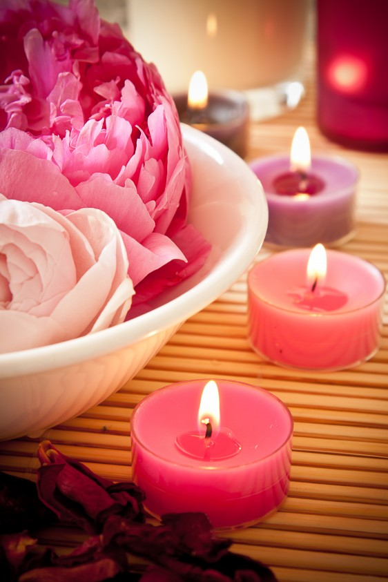 bigstock-Aromatherapy-Flowers-And-Candl-54250622